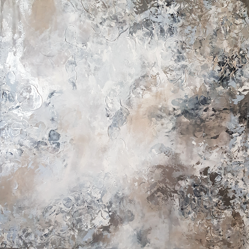 (CreativeWork) Serenity  by Emily Lauro. Acrylic Paint. Shop online at Bluethumb.