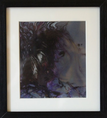(CreativeWork) Untitled Portrait by Anthony Clarke. Mixed Media. Shop online at Bluethumb.