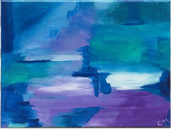 (CreativeWork) Lighthouse by Chalisa Morrison. Acrylic Paint. Shop online at Bluethumb.