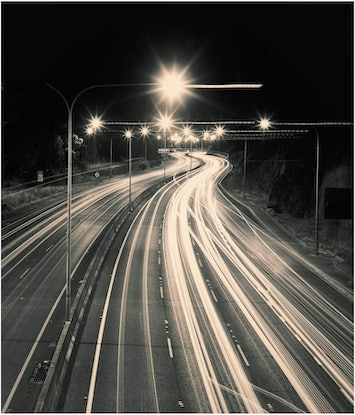 (CreativeWork) Night Road Games Ed. 1 of 3 by Alex Frayne. Photograph. Shop online at Bluethumb.