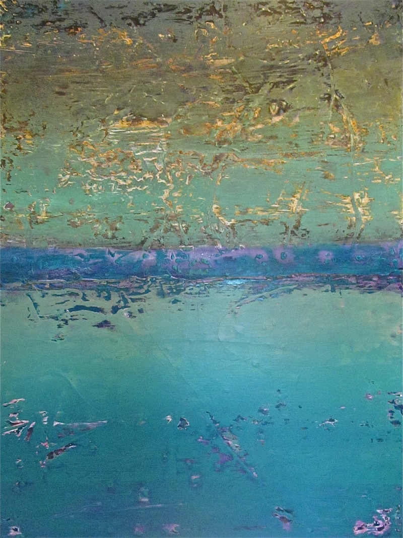 (CreativeWork) The Oceanic Flow of Things by Jack Isbister. Acrylic Paint. Shop online at Bluethumb.