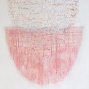 (CreativeWork) Untitled #18 by Melinda Blair Paterson. mixed-media. Shop online at Bluethumb.