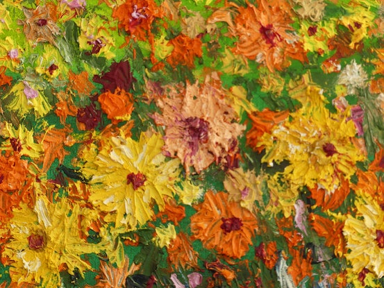 (CreativeWork) Namaqualand Dreaming Series No 2 by Barry Angus. Oil Paint. Shop online at Bluethumb.