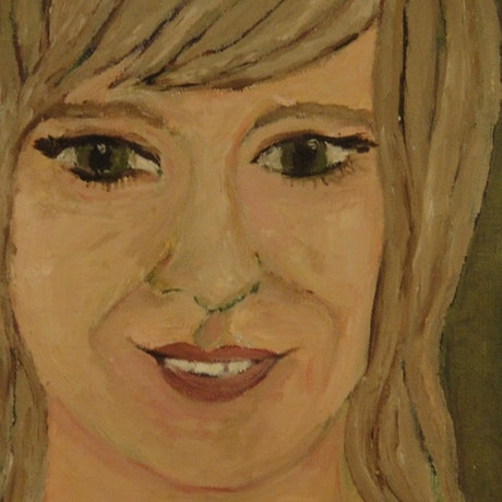 "(CreativeWork) ""Lauren"" (mfl 42 of 230) by elij foote. Oil Paint. Shop online at Bluethumb."