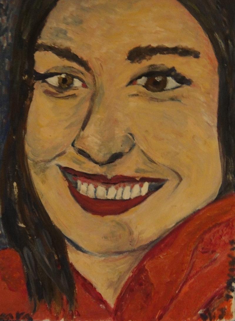 "(CreativeWork) ""Ceara"" (mfl 44 of 230) by elij foote. Oil Paint. Shop online at Bluethumb."