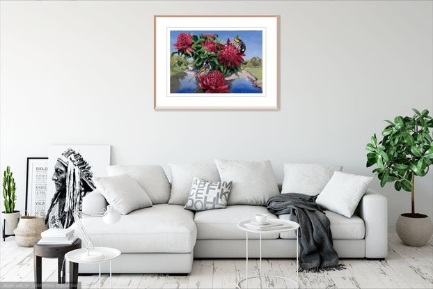 (CreativeWork) Heralds of Spring Ed. 5 of 100 by Steve Tyerman. Print. Shop online at Bluethumb.