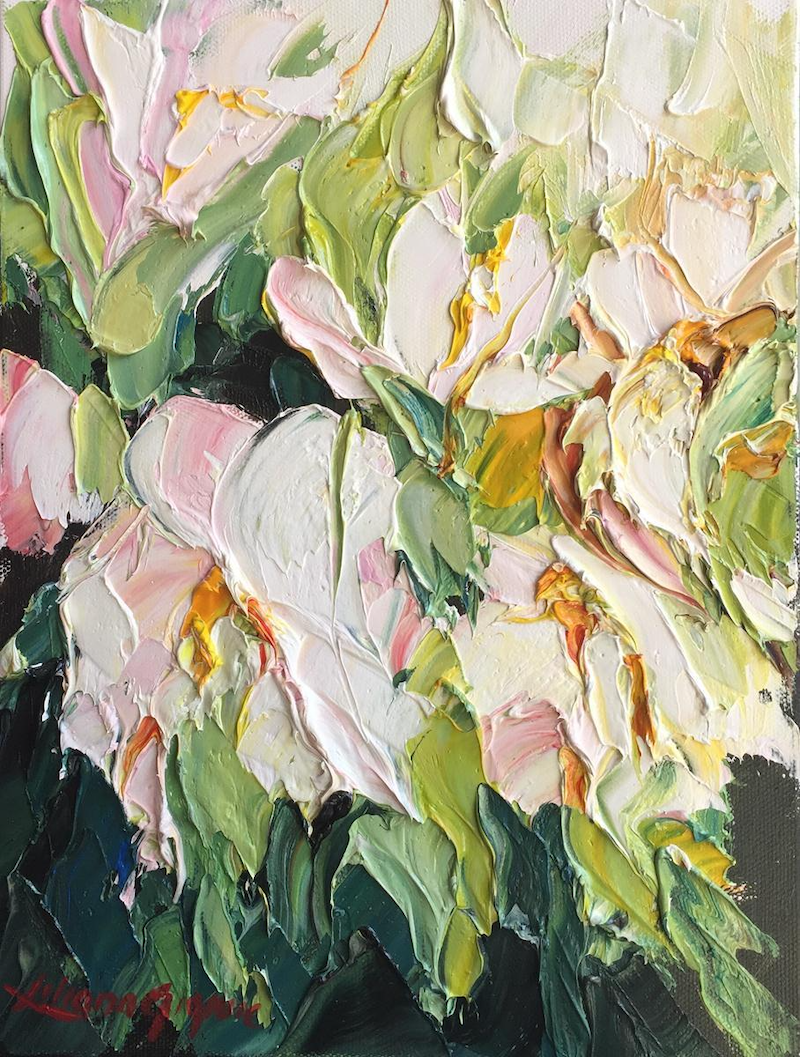 (CreativeWork) Spring delight #4 by Liliana Gigovic. Oil Paint. Shop online at Bluethumb.