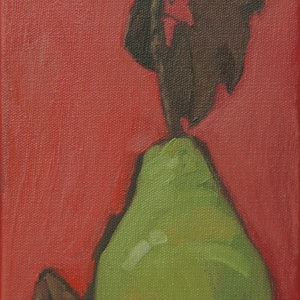 (CreativeWork) Harmony in Red by Tetyana Khytko. oil-painting. Shop online at Bluethumb.