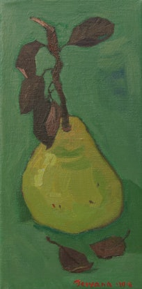 (CreativeWork) Harmony in Green by Tetyana Khytko. Oil Paint. Shop online at Bluethumb.