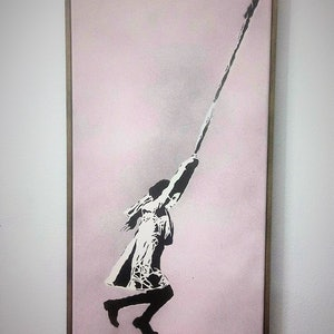 (CreativeWork) 'Rope of Hope' by Camo Streetart. other-media. Shop online at Bluethumb.