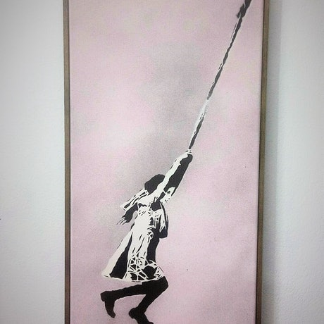 (CreativeWork) 'Rope of Hope' by Camo Streetart. Other Media. Shop online at Bluethumb.