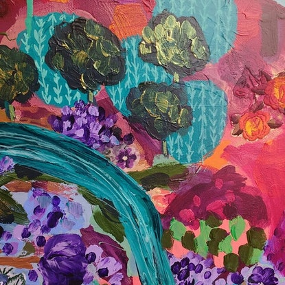 (CreativeWork) Saturday Afternoon  by Sandra Oost. Mixed Media. Shop online at Bluethumb.