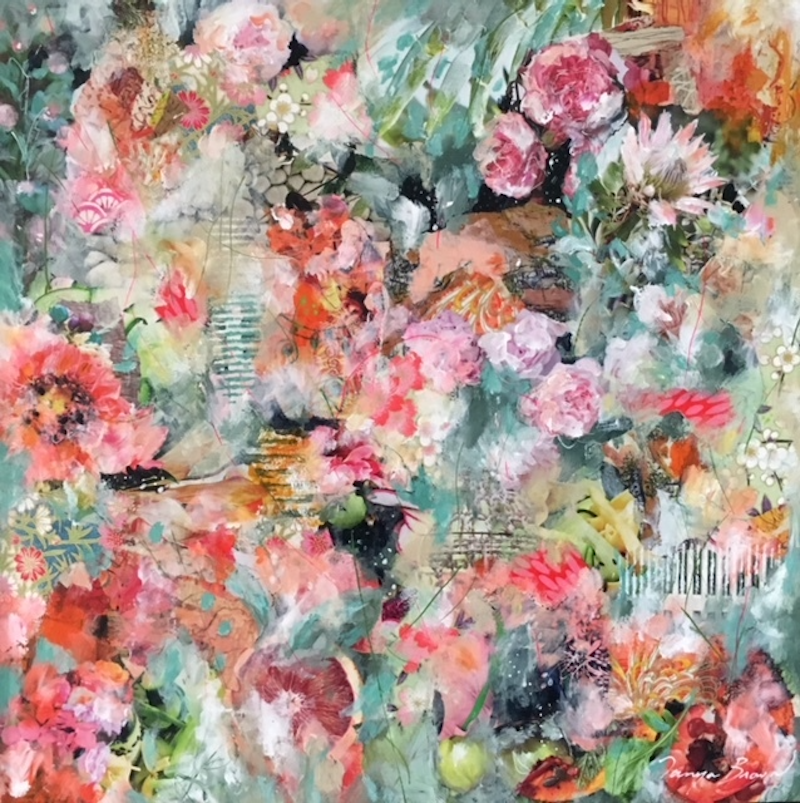 (CreativeWork) But Wait...There's More by Tanya Brown. Mixed Media. Shop online at Bluethumb.