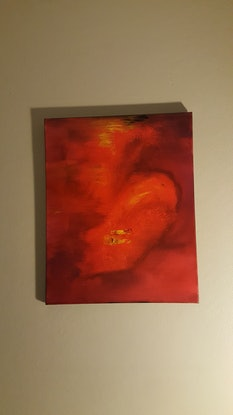(CreativeWork) Rush by Sheryl Anderson. Acrylic Paint. Shop online at Bluethumb.