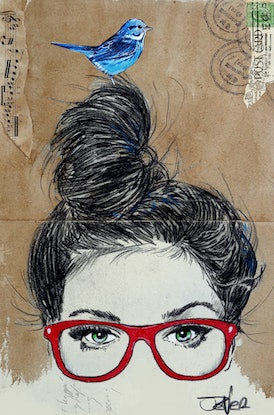 (CreativeWork) GET REDDY by loui jover. Drawings. Shop online at Bluethumb.