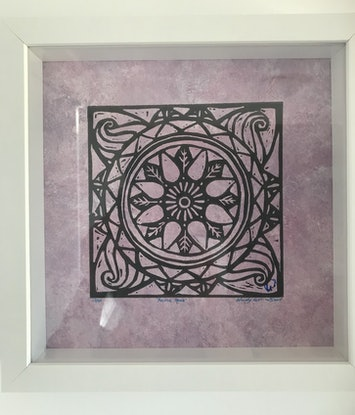 (CreativeWork) Positive Space Lino Print No:13/20 by Wendy Williams. Other Media. Shop online at Bluethumb.