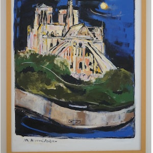 (CreativeWork) NIGHT OUT IN PARIS by Hiromi Andrew. mixed-media. Shop online at Bluethumb.