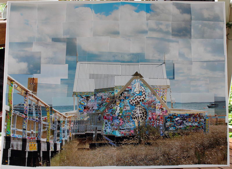 (CreativeWork) Portsea Beach Box by jordan richardson. Mixed Media. Shop online at Bluethumb.