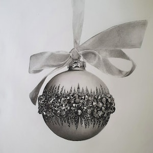 (CreativeWork) Bauble study by Ben Austen. drawing. Shop online at Bluethumb.