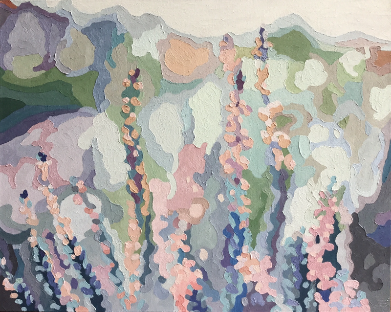 (CreativeWork) Early morning by Aylee Kim. Oil Paint. Shop online at Bluethumb.