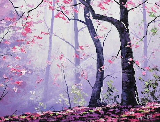 (CreativeWork) Sunrays by Graham Gercken. Oil Paint. Shop online at Bluethumb.