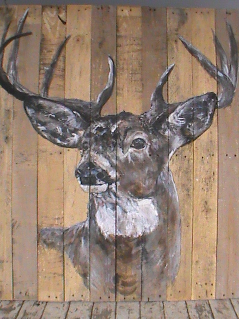(CreativeWork) king of the hill    very large 117cm x 97 cm  by samantha burridge. Acrylic Paint. Shop online at Bluethumb.