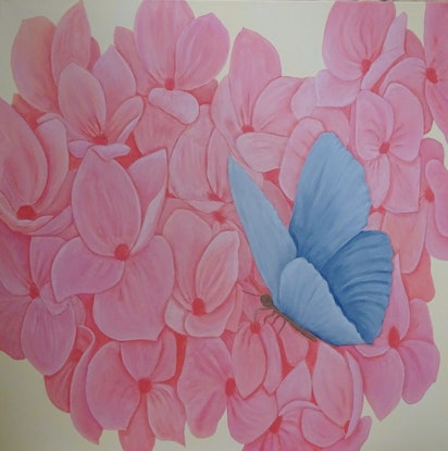 (CreativeWork) Resting Place by Julie-Anne Gatehouse. Acrylic Paint. Shop online at Bluethumb.