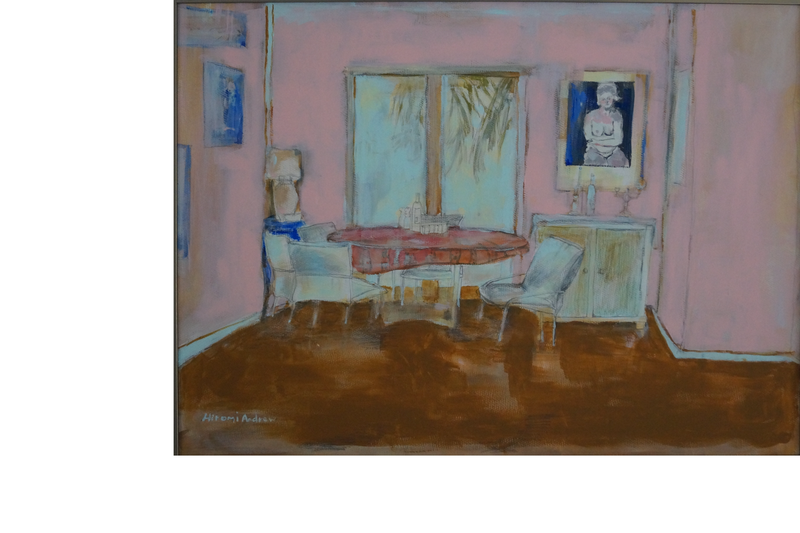 (CreativeWork) THE DINING ROOM by Hiromi Andrew. Mixed Media. Shop online at Bluethumb.