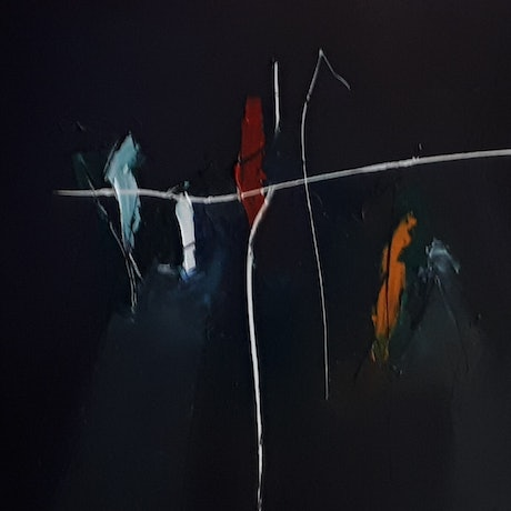 (CreativeWork) Trilogy by Christos Angelakis. Oil Paint. Shop online at Bluethumb.