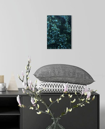 (CreativeWork) Canopy by Toni Southwell. Acrylic Paint. Shop online at Bluethumb.