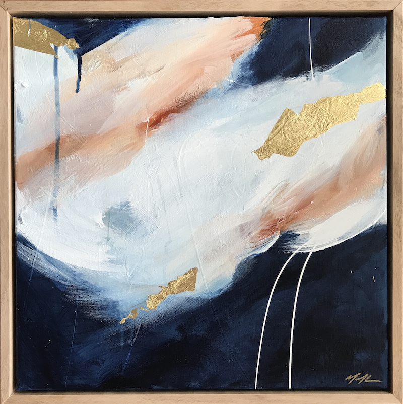 (CreativeWork) Distant Skies by Marnie McKnight. Acrylic Paint. Shop online at Bluethumb.