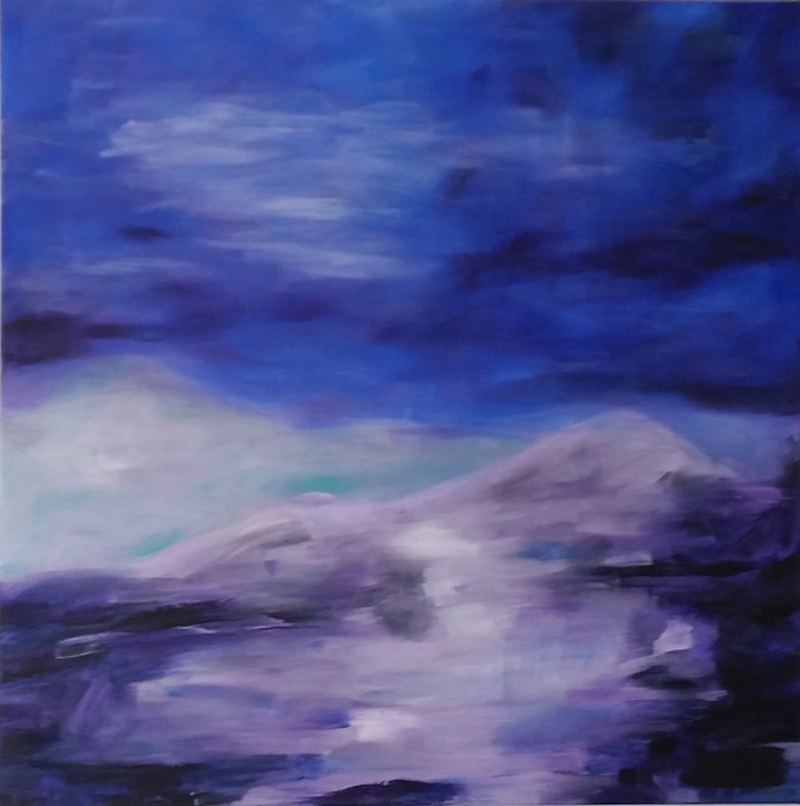 (CreativeWork) Shifting Winds by Rachel Prince. Acrylic Paint. Shop online at Bluethumb.
