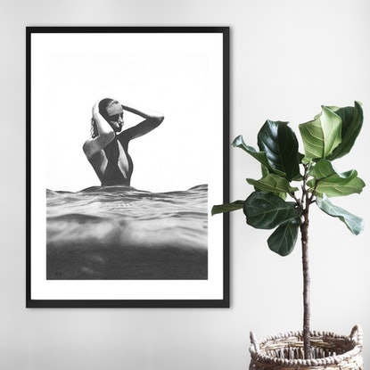 (CreativeWork) Water Level by Ro Geddes. Drawings. Shop online at Bluethumb.