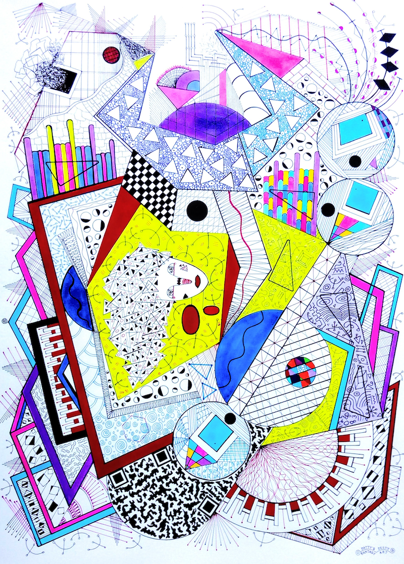 (CreativeWork) As a Matter of Fact 4 . . . by Patricia Concha. Drawings. Shop online at Bluethumb.