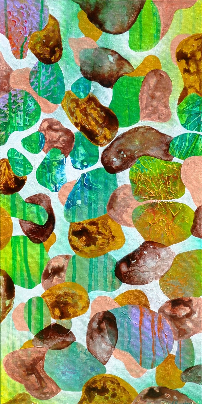 (CreativeWork) Tropical Day by Lisa Humphrey. Acrylic Paint. Shop online at Bluethumb.