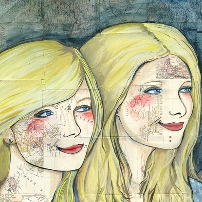 (CreativeWork) I Treasure Your Smile by Alicia Rogerson. Mixed Media. Shop online at Bluethumb.