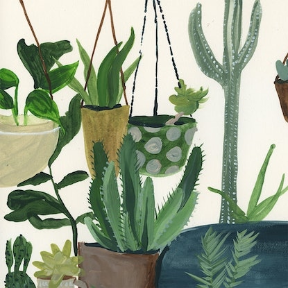 (CreativeWork) Always Room For More by Alicia Rogerson. Watercolour Paint. Shop online at Bluethumb.