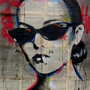 (CreativeWork) BEATNIK  by loui jover. drawing. Shop online at Bluethumb.