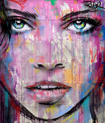 (CreativeWork) ONYX by loui jover. Drawings. Shop online at Bluethumb.