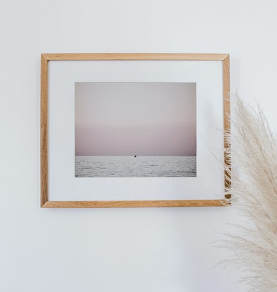 (CreativeWork) Tiny fishing boat in pink Ed. 2 of 2 by Wendy Philip. Photograph. Shop online at Bluethumb.