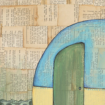 (CreativeWork) If I Had One Wish by Alicia Rogerson. Mixed Media. Shop online at Bluethumb.
