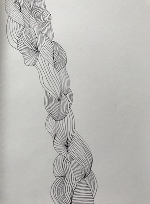 (CreativeWork) Ebb and Flow by Kiera Rikard-Bell. Drawings. Shop online at Bluethumb.