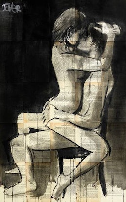 (CreativeWork) SULTRY NIGHTS by loui jover. Drawings. Shop online at Bluethumb.