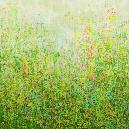 (CreativeWork) 'Summer Garden' unframed Ed. 11 of 75 by George Hall. Print. Shop online at Bluethumb.