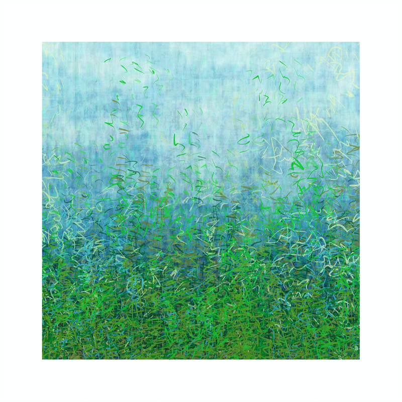 (CreativeWork) 'French Garden' unframed Ed. 11 of 75 by George Hall. Print. Shop online at Bluethumb.