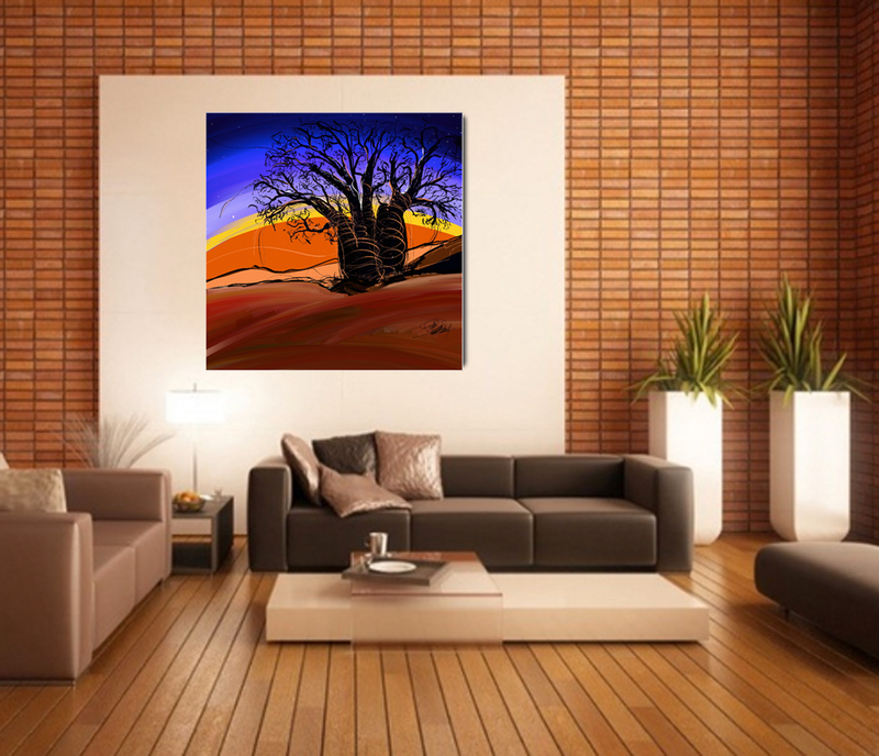 (CreativeWork) Tree of life by Gino Ciancio. Other Media. Shop online at Bluethumb.