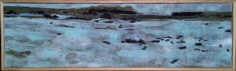 (CreativeWork) Point Roadknight Anglesea by Ray David. Oil Paint. Shop online at Bluethumb.