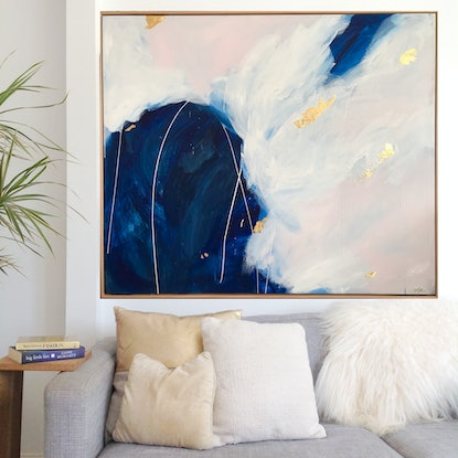 (CreativeWork) The  Centre VII by Marnie McKnight. Acrylic Paint. Shop online at Bluethumb.