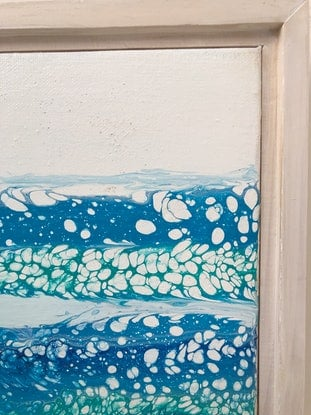 (CreativeWork) Glassey by Wendy Williams. Acrylic Paint. Shop online at Bluethumb.