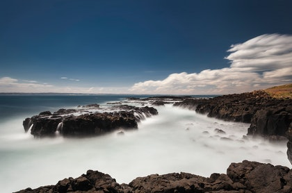 (CreativeWork) Cowrie Beach, Phillip Island by Piers Buxton. photograph. Shop online at Bluethumb.
